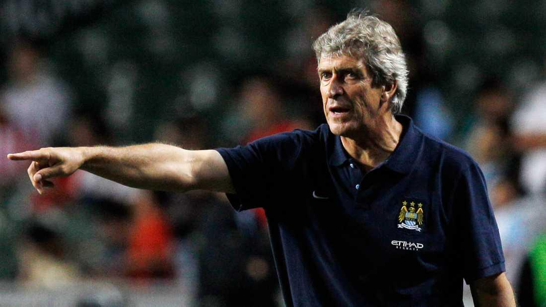 Manuel Pellegrini, Manchester City.