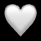 Vitt hjärta.