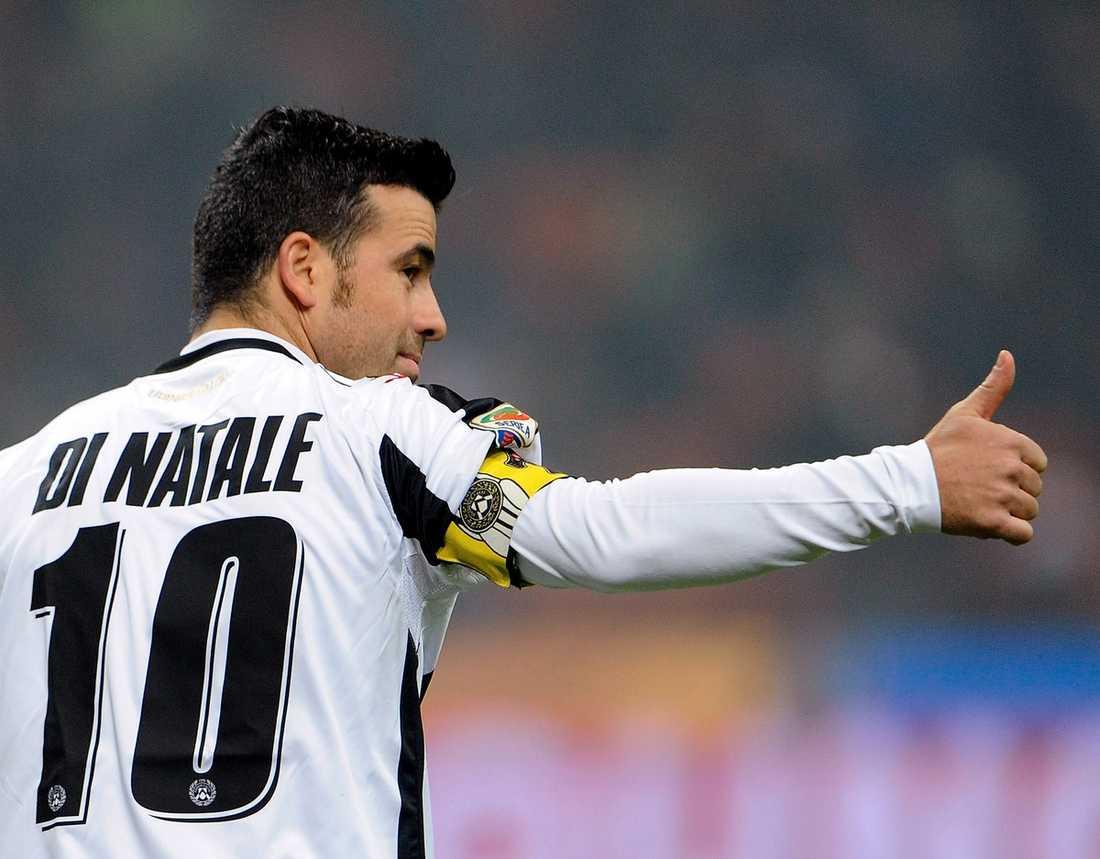 Antonio Di Natale - ständigt jagad av de italienska storklubbarna.