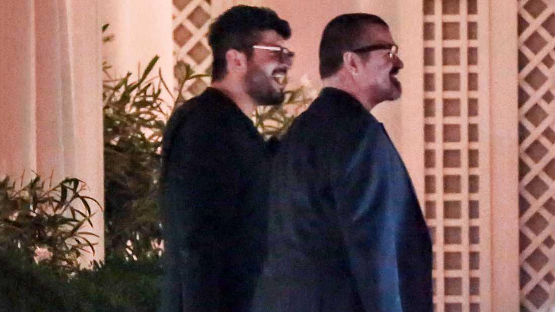 George Michael och Fadi Fawaz.