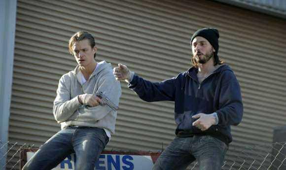 """Joel Kinnaman och en tanig Matias Varela ur den första """"Snabba cash""""-filmen."""
