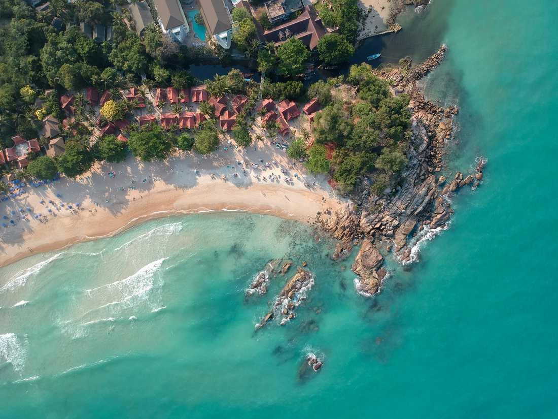 På Koh Samui finns det fler hotellsängar än turister.