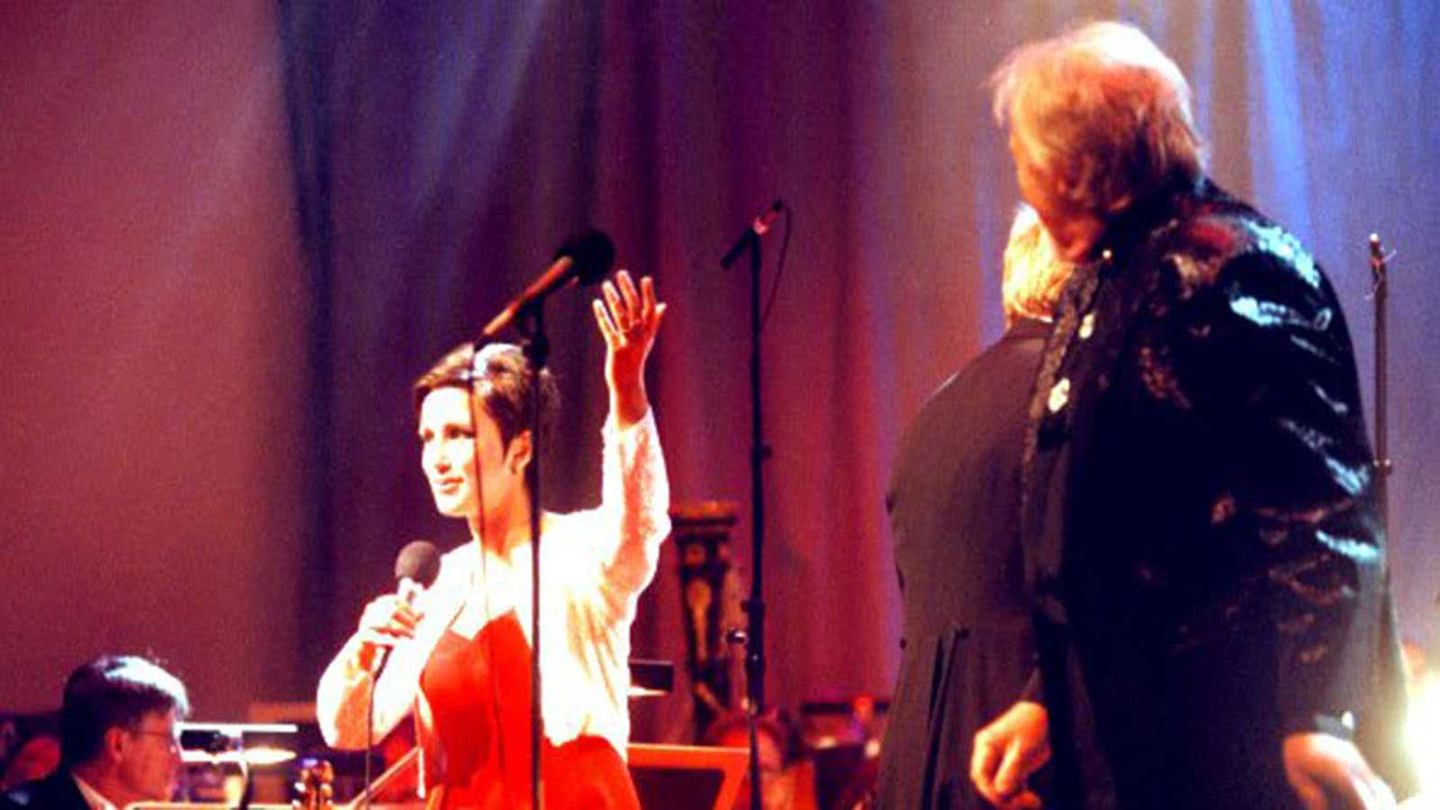 Lisa Nilsson sjunger Frank Sinatra med Svante Thuresson 1997.