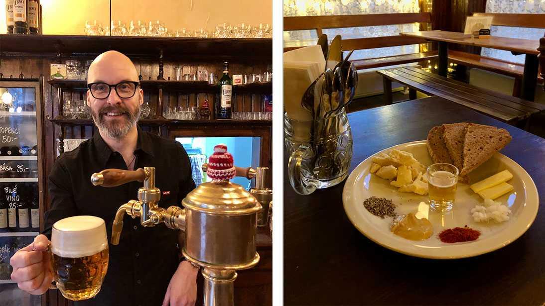 Reklammannen Benny Mårtensson sa upp sig från jobbet – i dag är han delägare i den tjeckiska ölbaren Pivo på Västergatan.