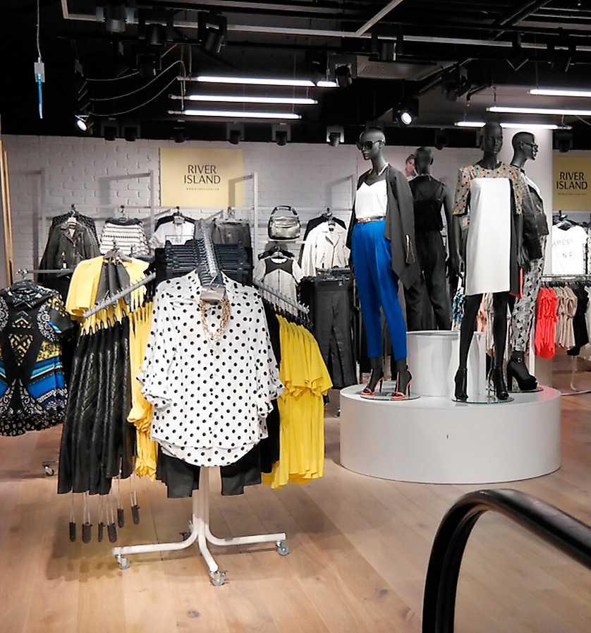 Butiken i Stockholm är nyöppnad.
