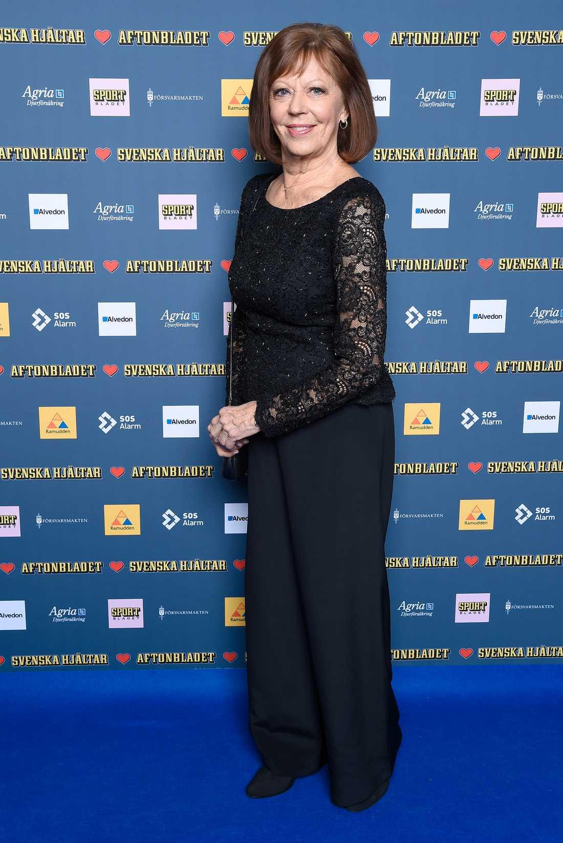 Lill Lindfors är med i Svenska Hjältar-juryn.