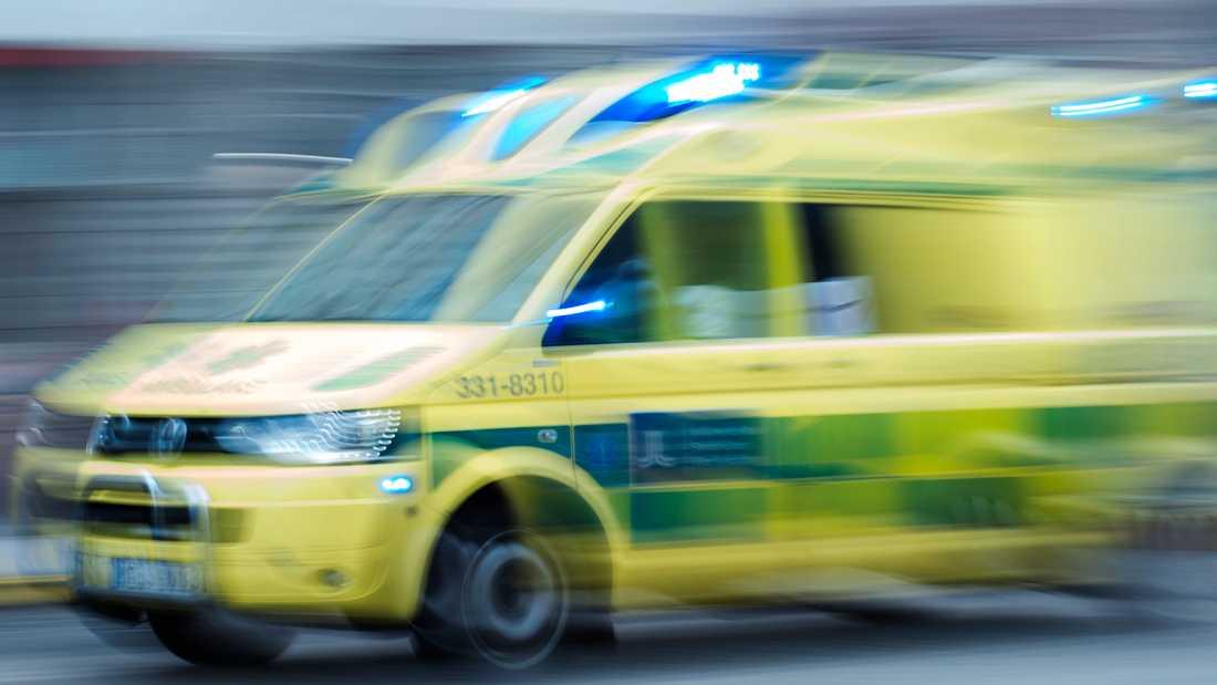 En liten pojke har förts till sjukhus sedan han fallit ut från ett fönster i Göteborg. Arkivbild.
