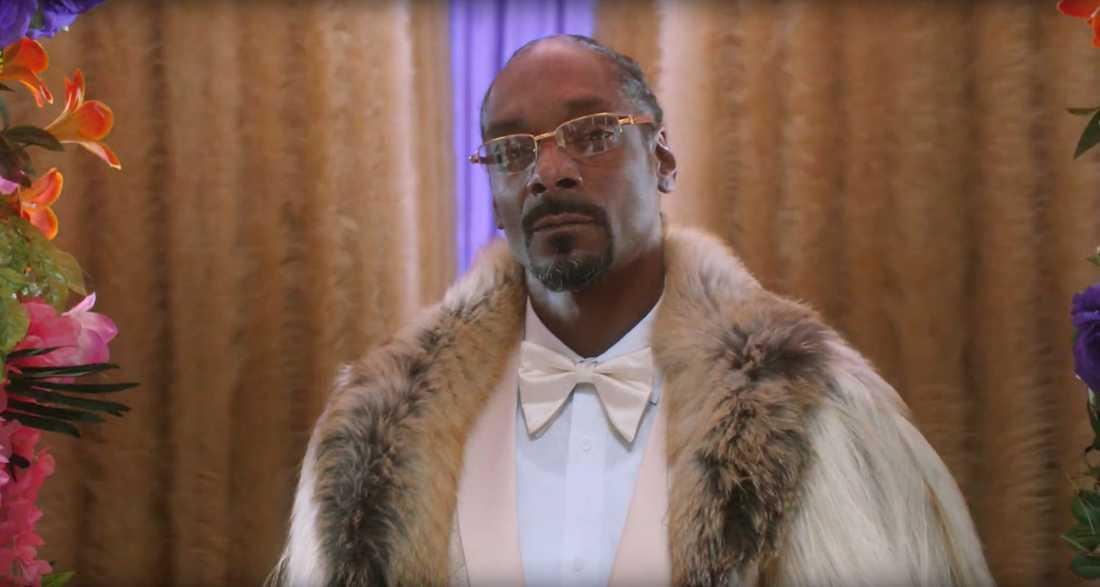 """Stillbild från reklamfilmen med """"Smoooth-Dogg""""."""