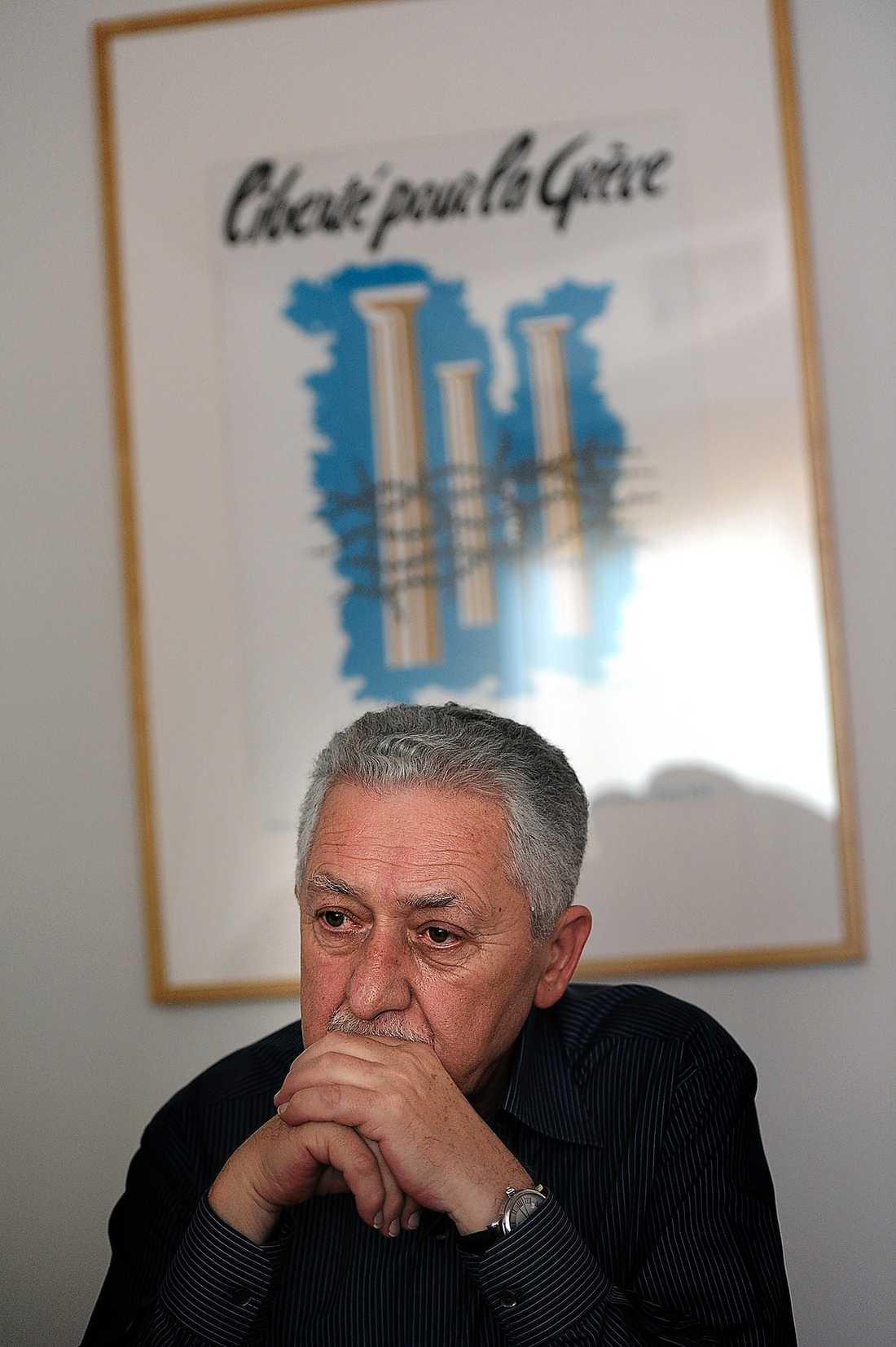 Fotis Kouvelis, partiledare.