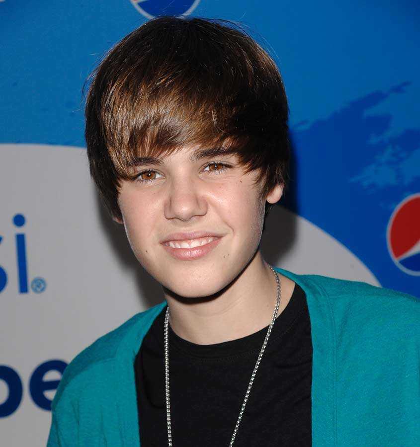 Är han lik Justin Bieber? Så här såg han ut 2010.