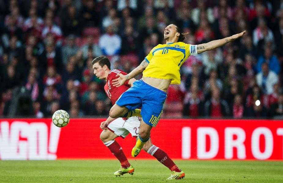"""""""Ni har bara Zlatan och han gör aldrig mål på oss"""", säger Sune Odér, nyhetschef på danska Ekstrabladet."""