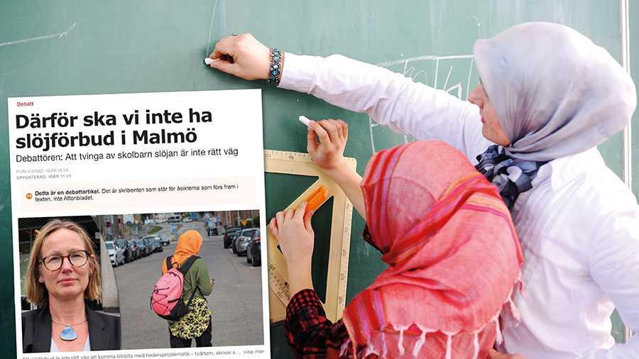 Vi anser att de som dagligen arbetar med hedersförtryck och träffar offren vet mer om hedersförtryck än vad Sara Wettergren gör. Dessa organisationer menar att den muslimska slöjan inte ska finnas på skolans område, skriver SD i Malmö.