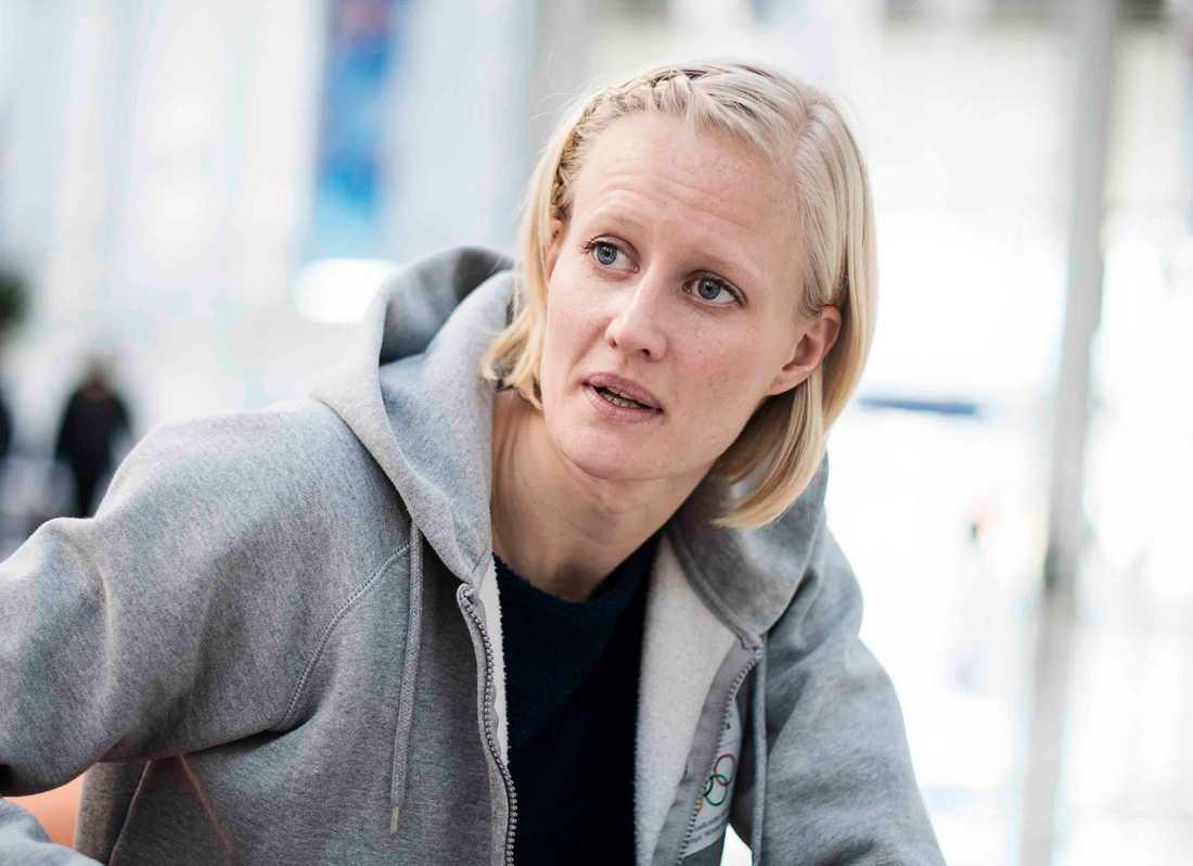 Carolina Klüft känner sig sviken efter beskedet om att kollegad dopat sig för EPO.