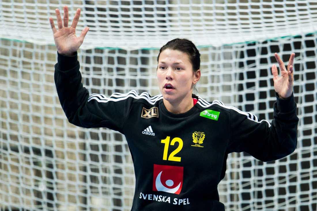 Filippa Idéhn Ålder: 24. Position: Målvakt. Klubb: IK Sävehof.