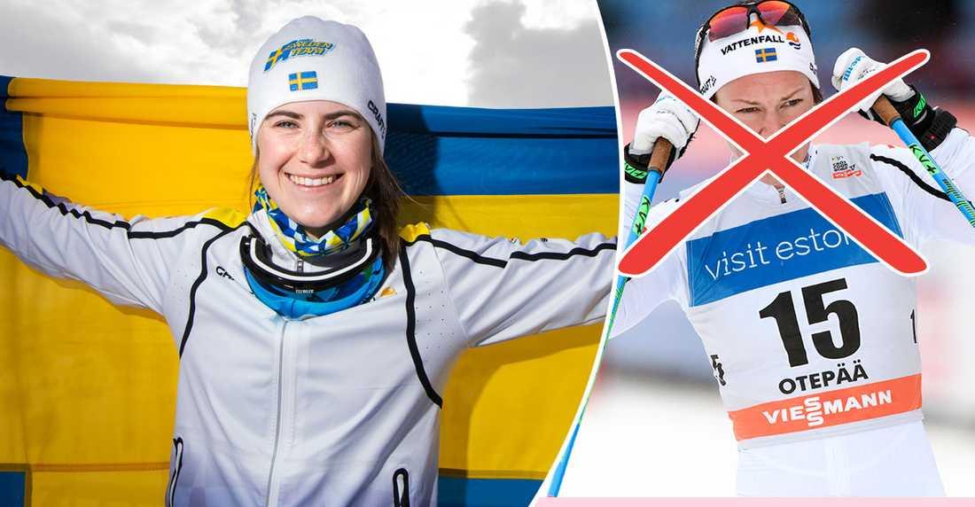 Ebba Andersson gjorde stor succé i JVM tidigare i vinter.
