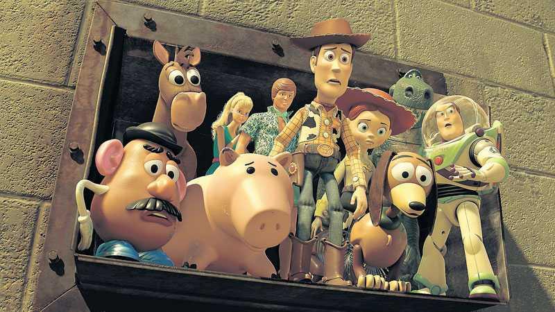 """SISTA SKRATTET MED GÄNGET Med """"Toy story 3"""" kompletteras en trilogi med få jämlikar i filmhistorien. Foto: PIXAR"""