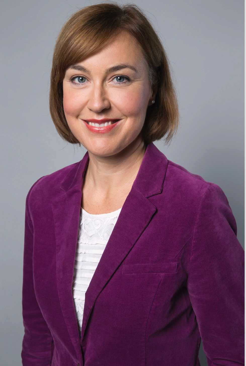 Pernilla Baralt, statssekreterare hos barn-, äldre- och jämställdhetsminister Åsa Regnér.