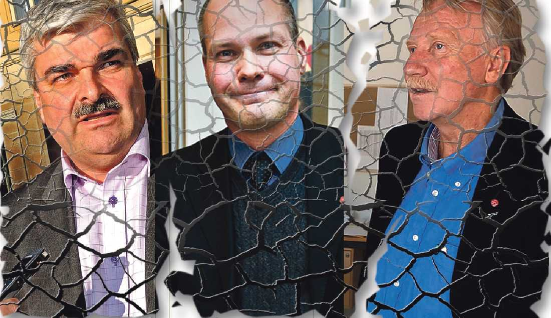 Politisk jordbävning Håkan Juholt, Morgan Johansson och Ilmar Reepalu har i veckan gjort snedsteg som skadar Socialdemokraterna. Att försöka backa är ingen idé, skadan är redan skedd.