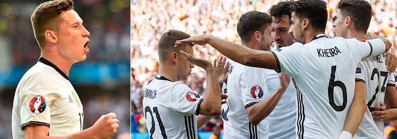 Draxler och Tyskland lekte hem åttondelen mot Slovakien.