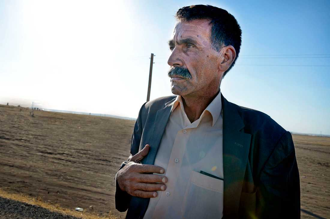 Khalil Bosan: Mina söner är där framme och slåss mot terroristerna, om de dör i dag är jag en olycklig men stolt man.