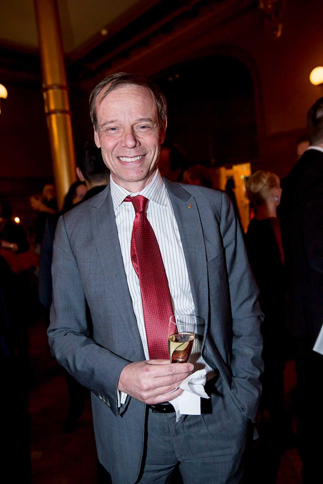 På Svenska hjältar-galan 2015. Christer Fuglesang har tidigare även suttit i juryn.