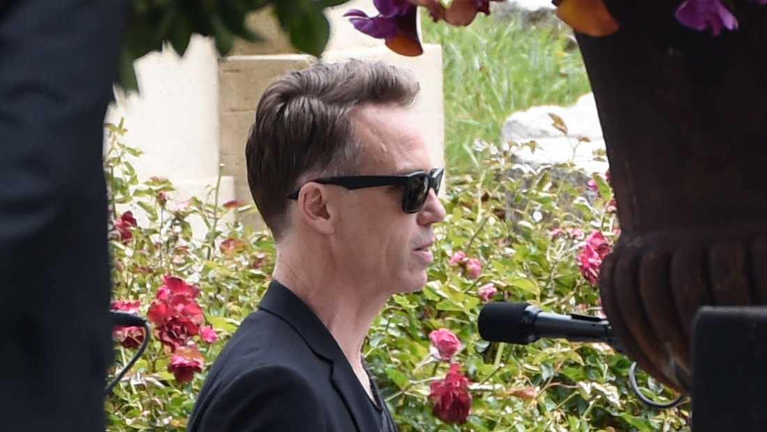 Soundgarden-medlemmen Matt Cameron talade på Crhis Cornells begravning.