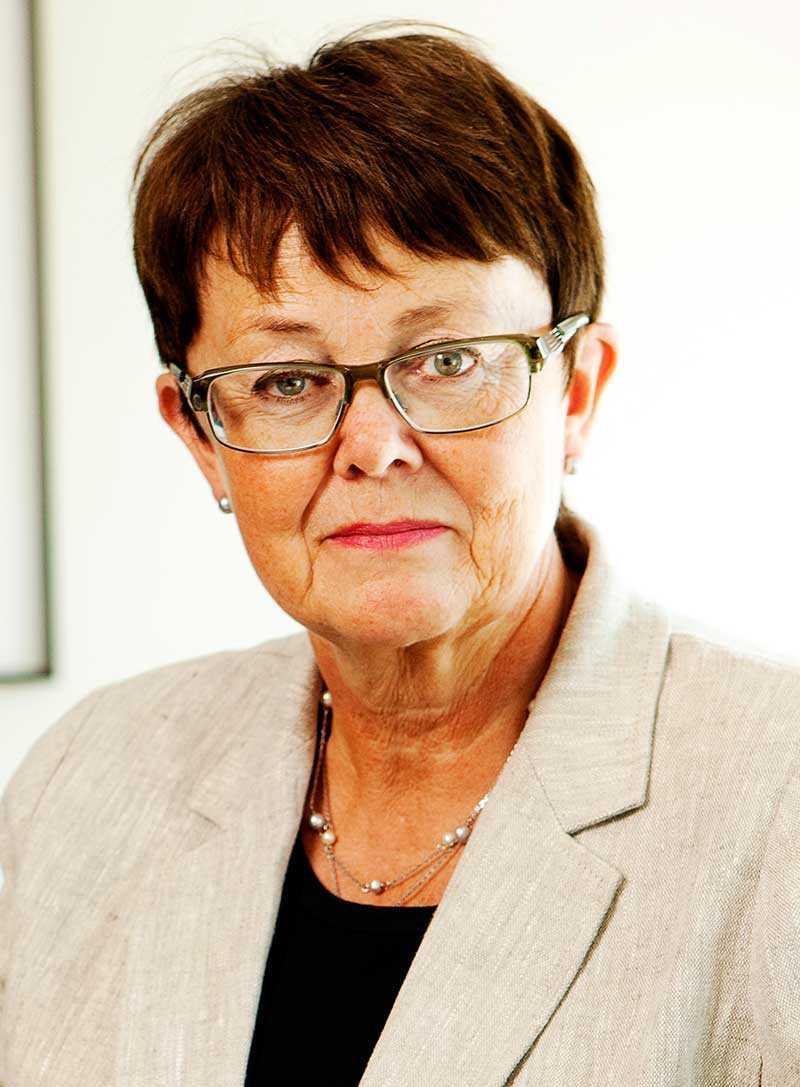 Annika Elias, ordförande i Ledarna.