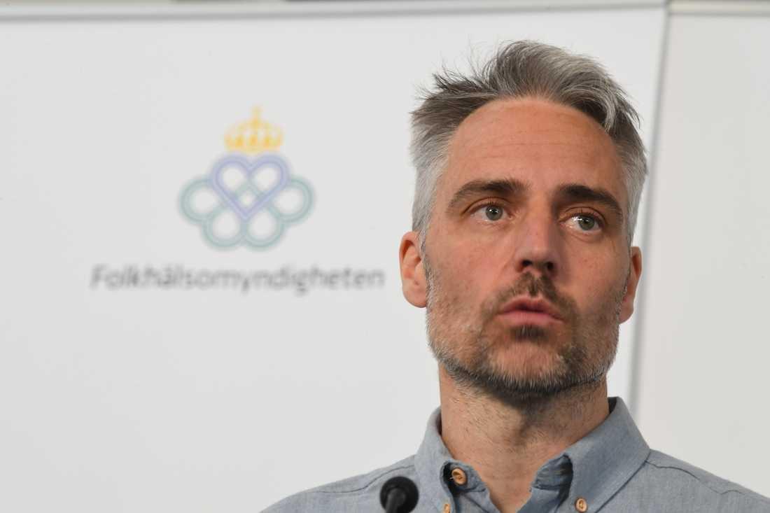 Anders Wallensten, biträdande statsepidemiolog. Arkivbild.