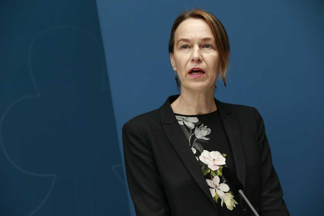 Socialstyrelsens generaldirektör Olivia Wigzell. Arkivbild.