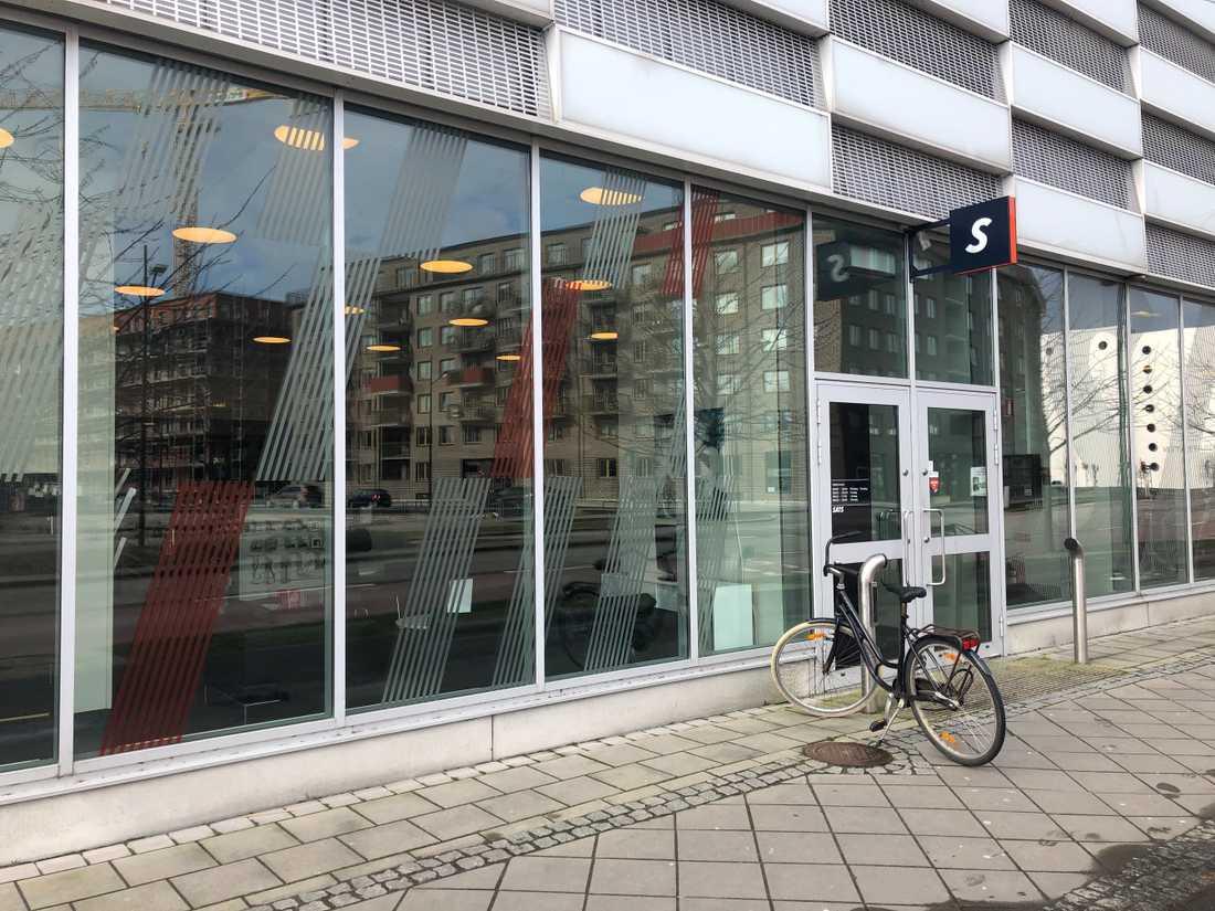 Ett av gymmen som nu stängs tillfälligt av smittskyddsskäl är beläget i Västra Hamnen.