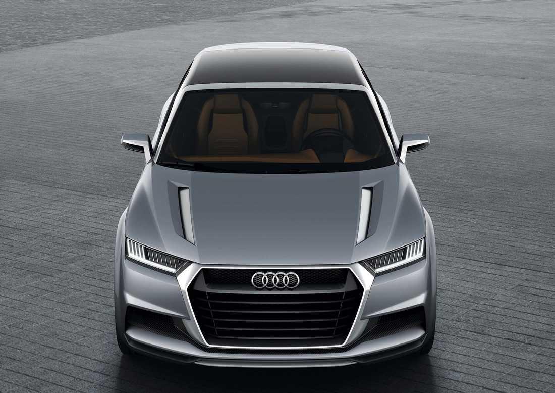 Audis konceptbil Crosslane Coupe som lanserades 2012 som skulle förevisa kommande Q-bil.