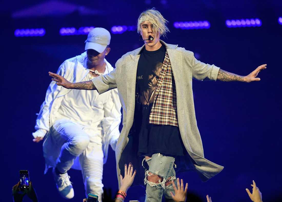 Justin Bieber ska nu ha landat i Stockholm.