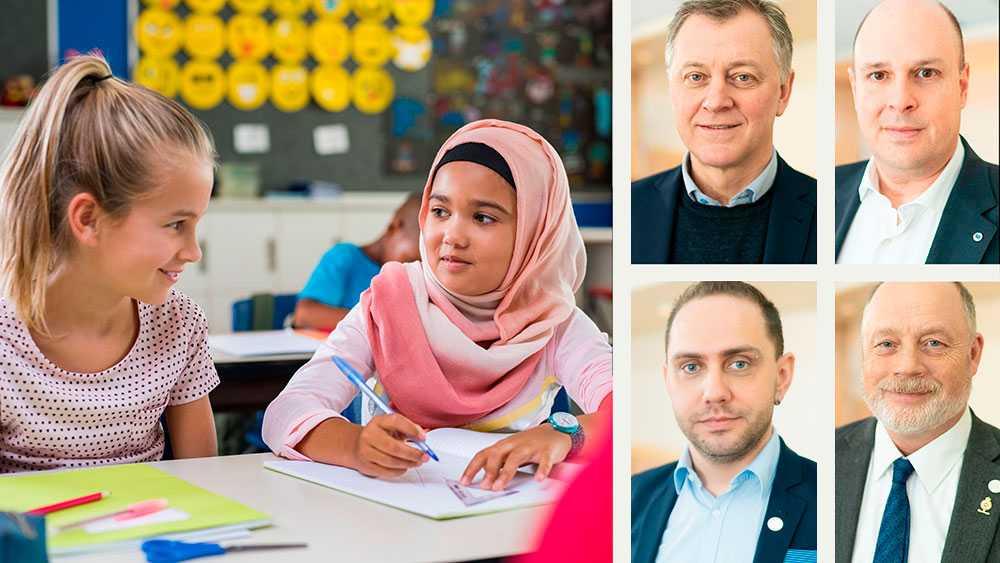 Bärandet av slöja eller annan huvudduk med avsikt att dölja delar eller hela ansiktet är ett uttryck för hederskultur som vi anser bör bekämpas, särskilt inom ramen för den svenska skolan, skriver Patrick Reslow, Robert Stenkvist, Michael Rubbestad och Jörgen Grubb (SD).