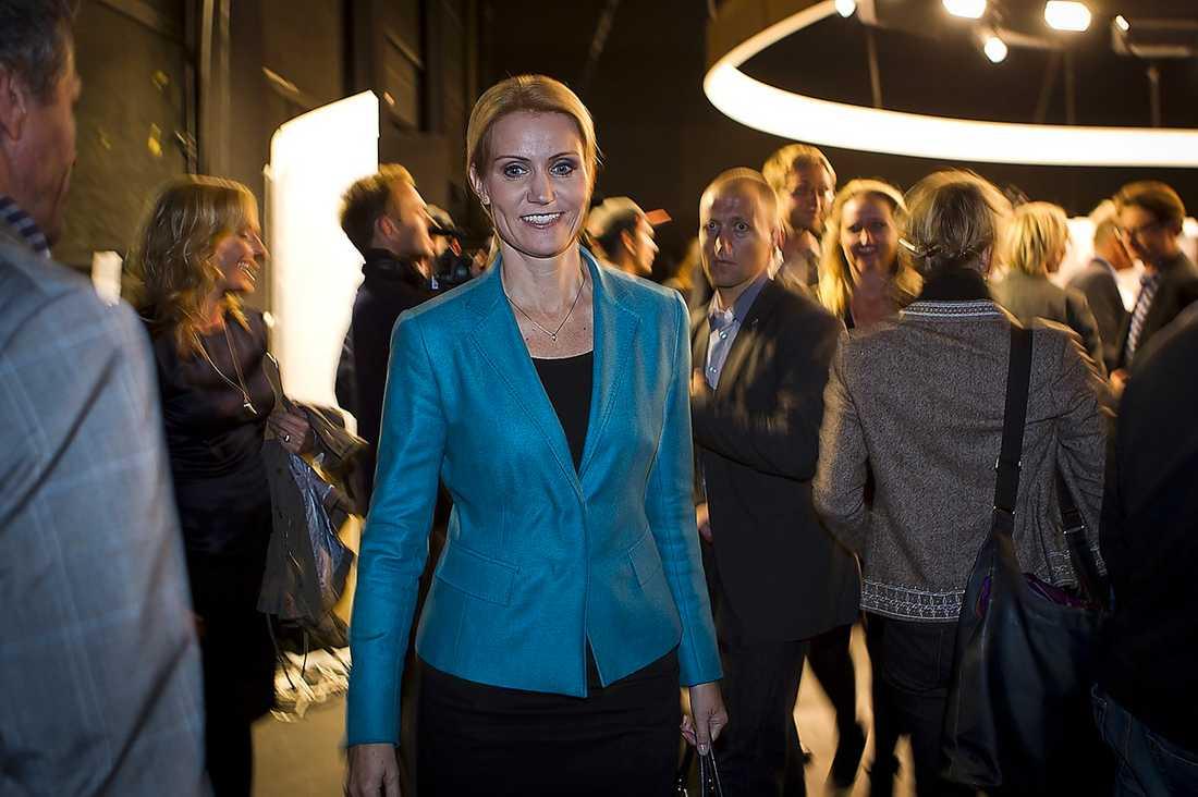 UTMANAREN  Helle Thorning-Schmidt, 44, är favorit till att bli Danmarks första kvinnliga statsminister.