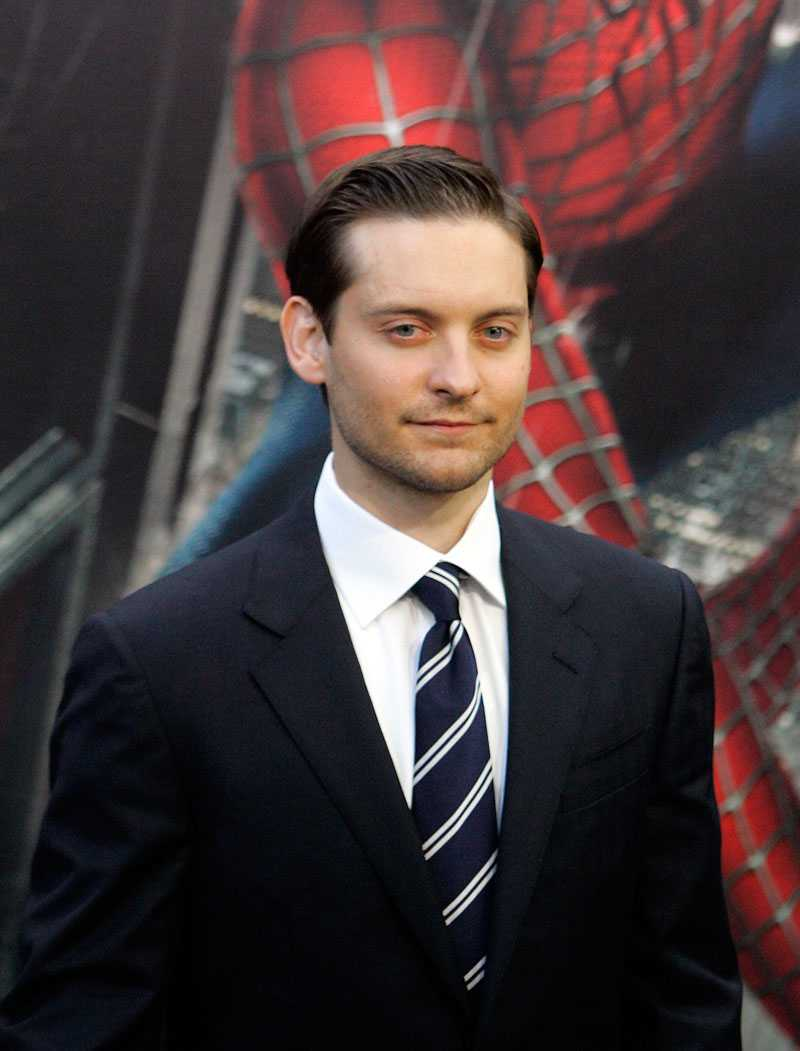 """Tobey """"Spidey"""" Maguire."""