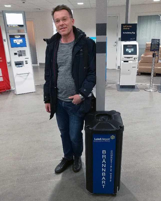 Roger Leirvik hamnade i Luleå i stället för Göteborg.