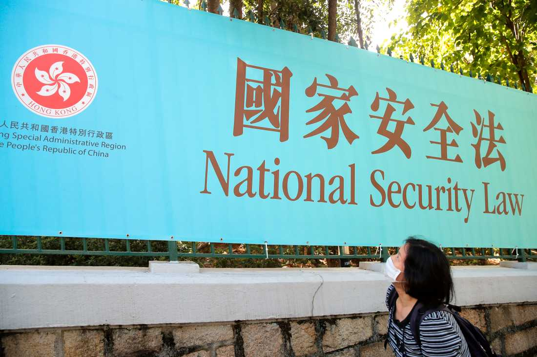 Hongkongborna fick reda på innehållet i den nya säkerhetslagen först när den hade införts.