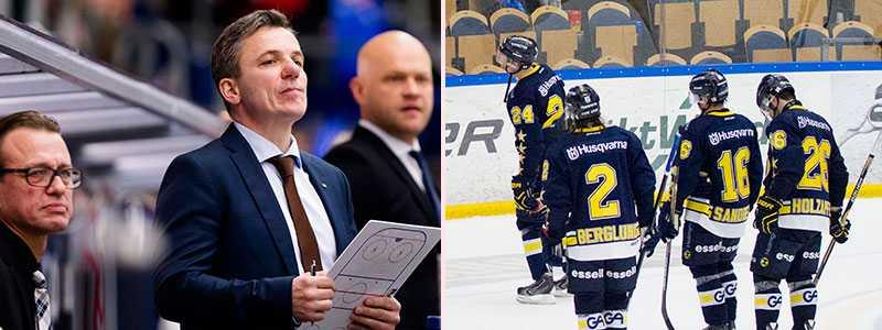 Fredrik Olausson, Fredrik Stillman och Andreas Johansson.
