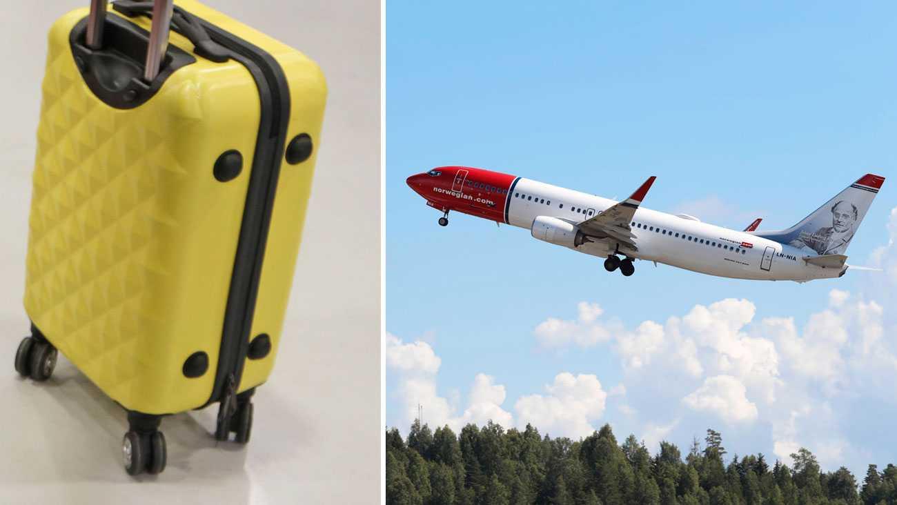 Norwegian: Slopar gratis handbagage på billig biljett