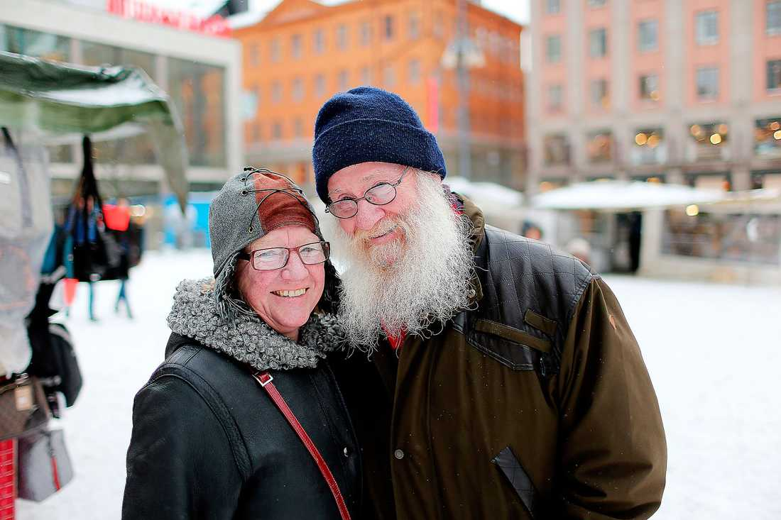 Ingemar Eriksson och Anna Gustafson.