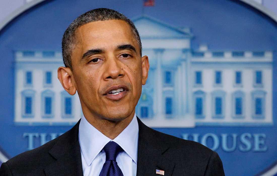Barack Obama, president i USA.