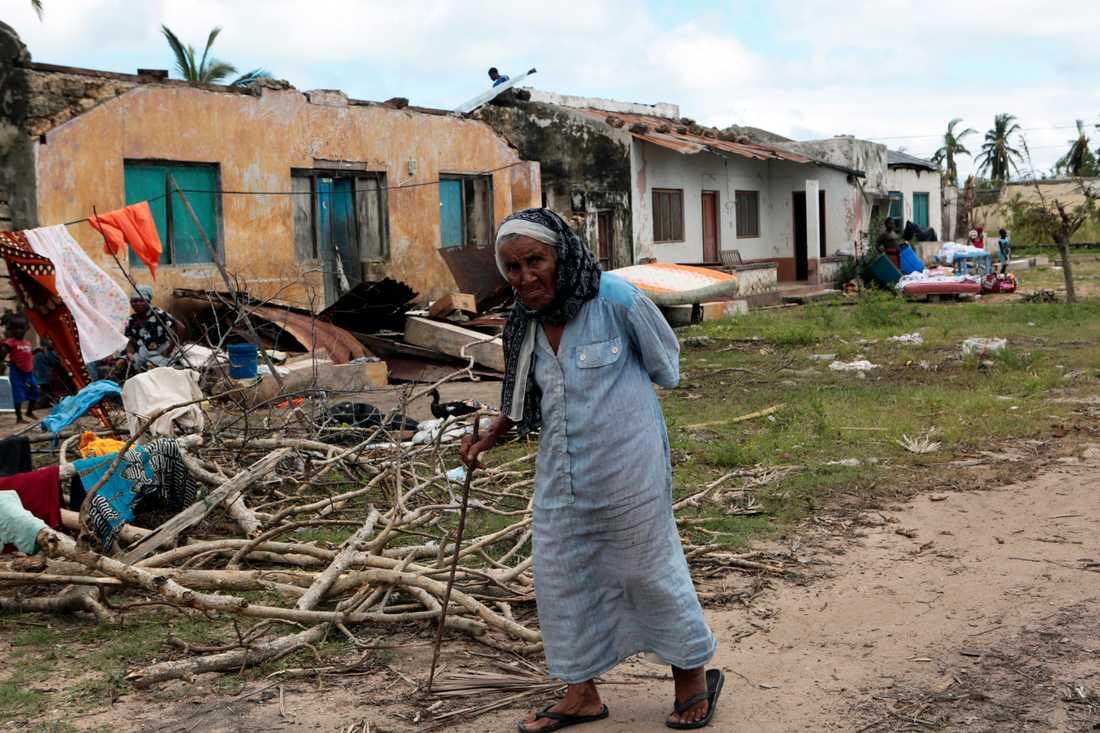 Cyklonen Kenneth, som skakade södra Afrika i april 2019, slog till bara kort efter en annan cyklon, kallad Idai. Bara i Moçambique försatte Idai omkring 400000 människor på flykt.