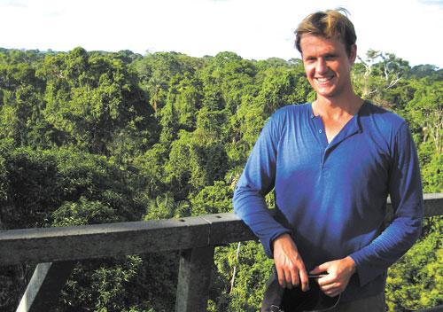 Torsten Krause, Amazonasexpert och hållbarhetsforskare vid Lunds universitet.