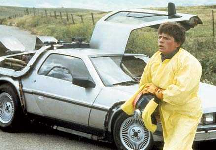 """Michael J Fox spelade en av huvudrollerna i """"Tillbaka till framtiden"""". En annan bärande roll spelade den DeLorean som användes för att resa i tiden."""