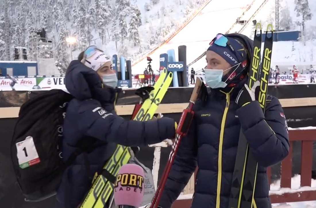 Ebba Andersson försökte be om ursäkt till Linn Svahn