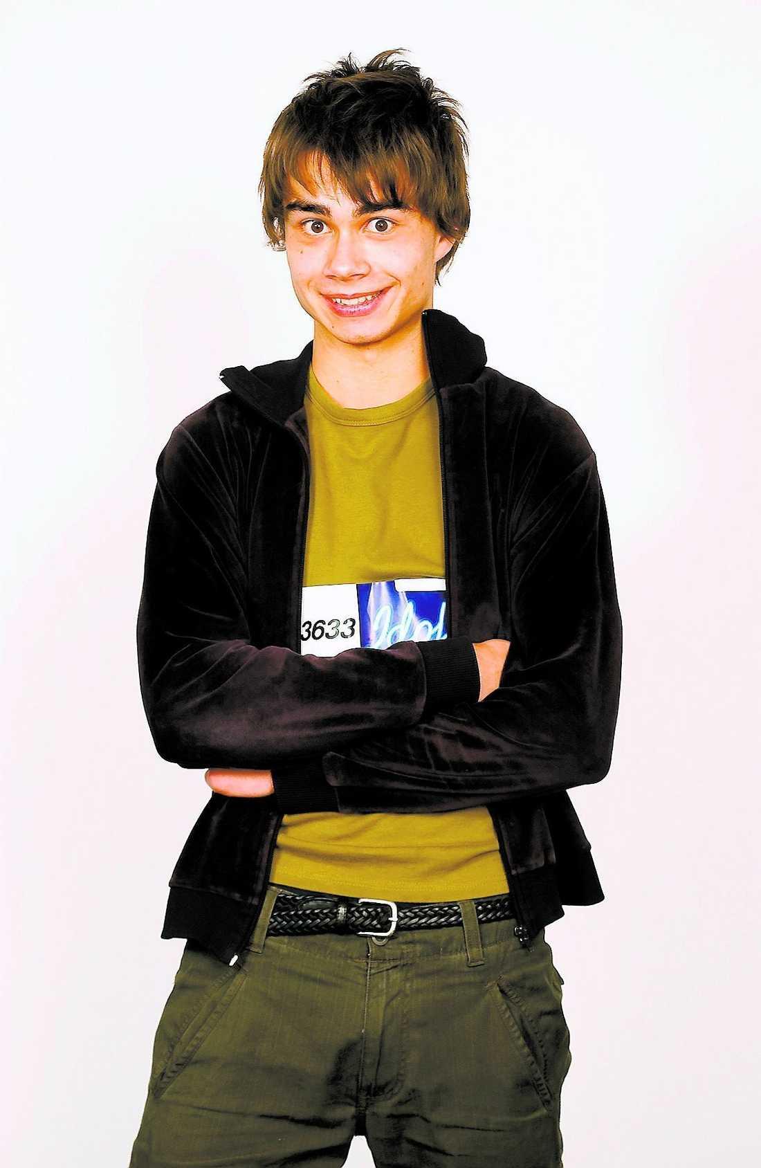 """Alexander Rybak i norska """"Idol"""" 2005."""