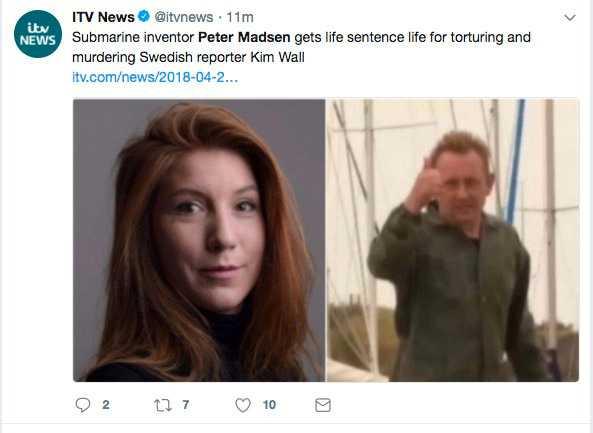 ITV News, Storbritannien.