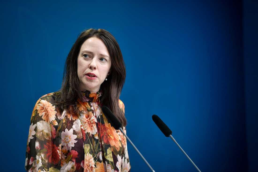 Jämställdhetsminister Åsa Lindhagen (MP). Arkivbild.