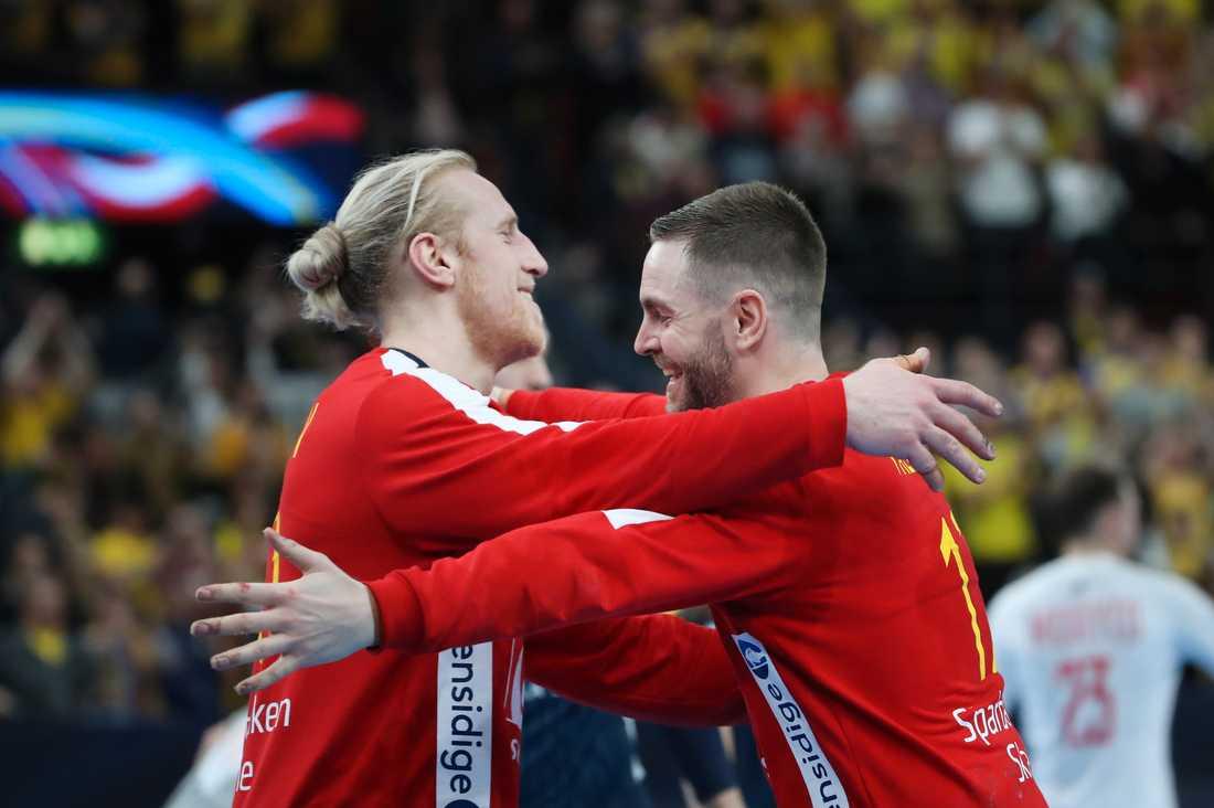 EM har börjat bra för Mikael Appelgren och Andreas Palicka.