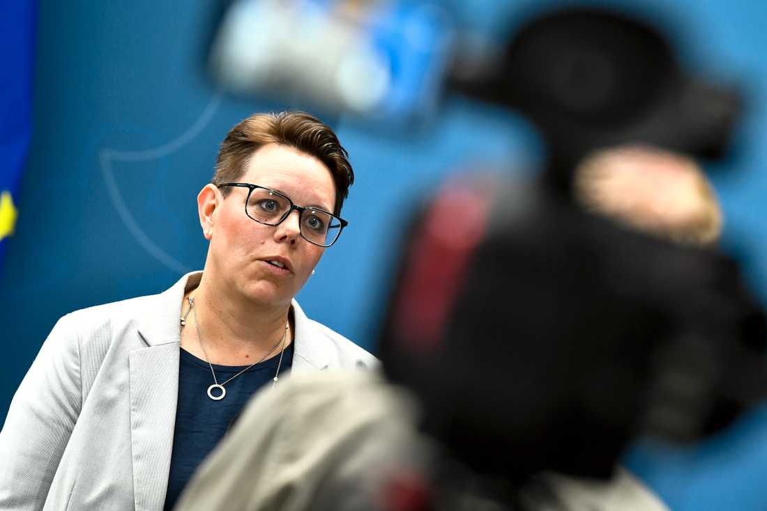 Marie Morell, ordförande för Sveriges Kommuner och Regioners sjukvårdsdelegation, är lite förvånad över att invånarnas förtroende för hälso - och sjukvården i regionerna skiljer sig så mycket åt. Arkivbild.